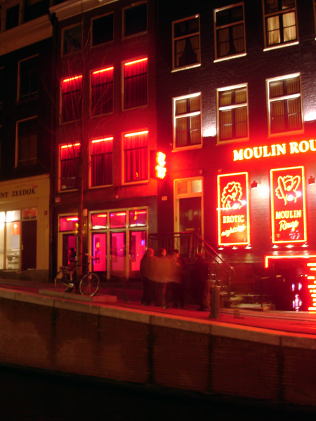 [- Barrio Rojo -] Red-light district, Amsterdam (Paises Bajos) | 12/01/2007